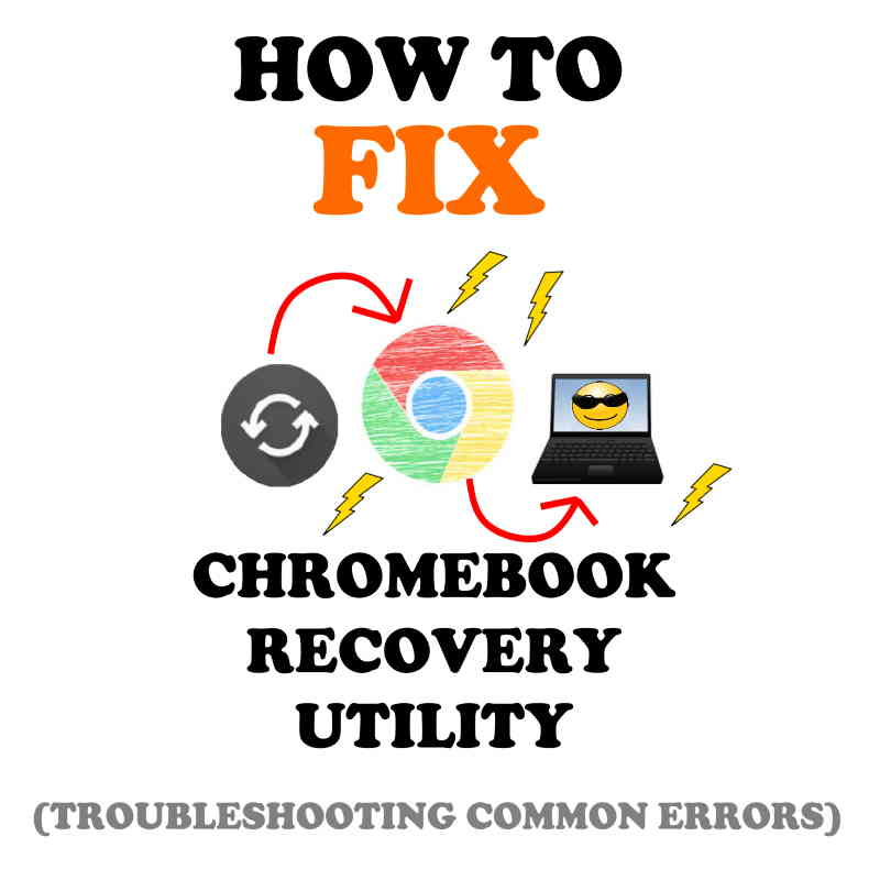 How to use the Chromebook Recovery Utility.