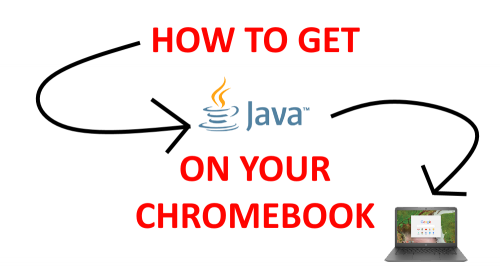 Get Java on your Chromebook.