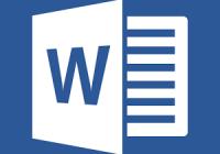 Microsoft Word on a Chromebook.