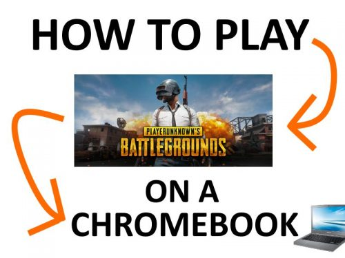 PUBG on Chrome OS.