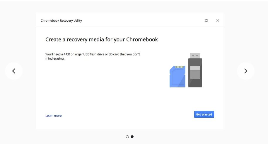 How to recover Chromebook.