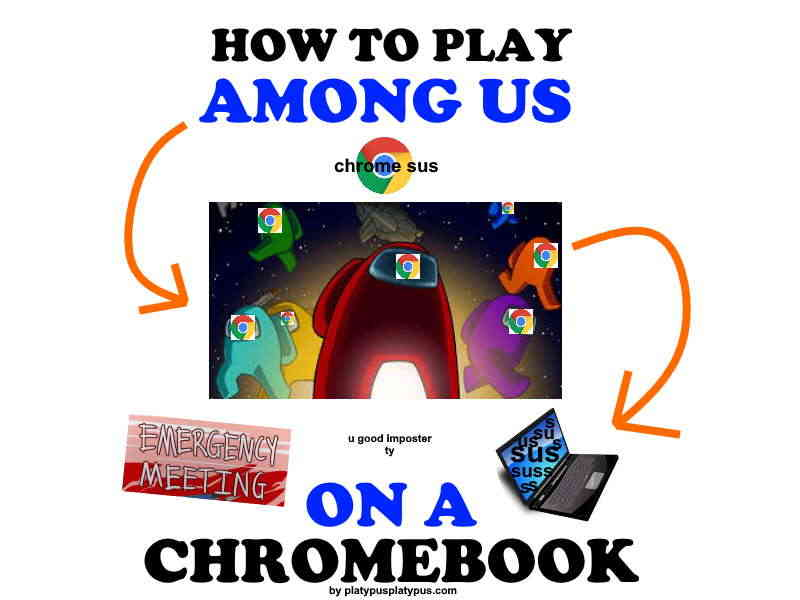 How to play Among Us Chromebook.
