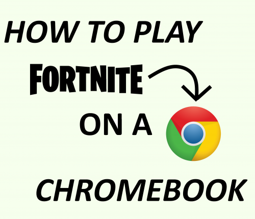 Fortnite on Chromebook tutorial.
