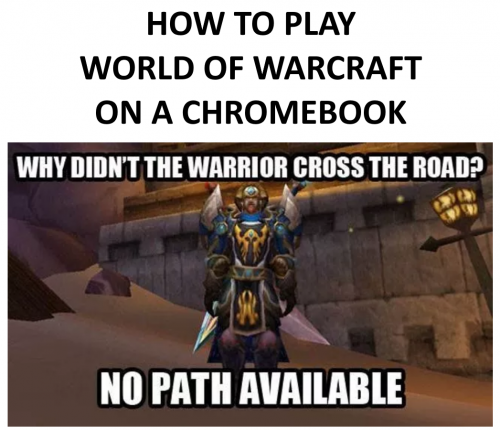 How to Play World of Warcraft (WoW) on a Chromebook (Step-By
