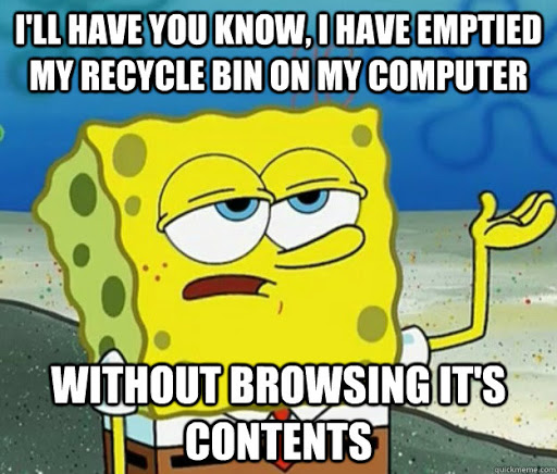 How to recycle Chromebook meme.