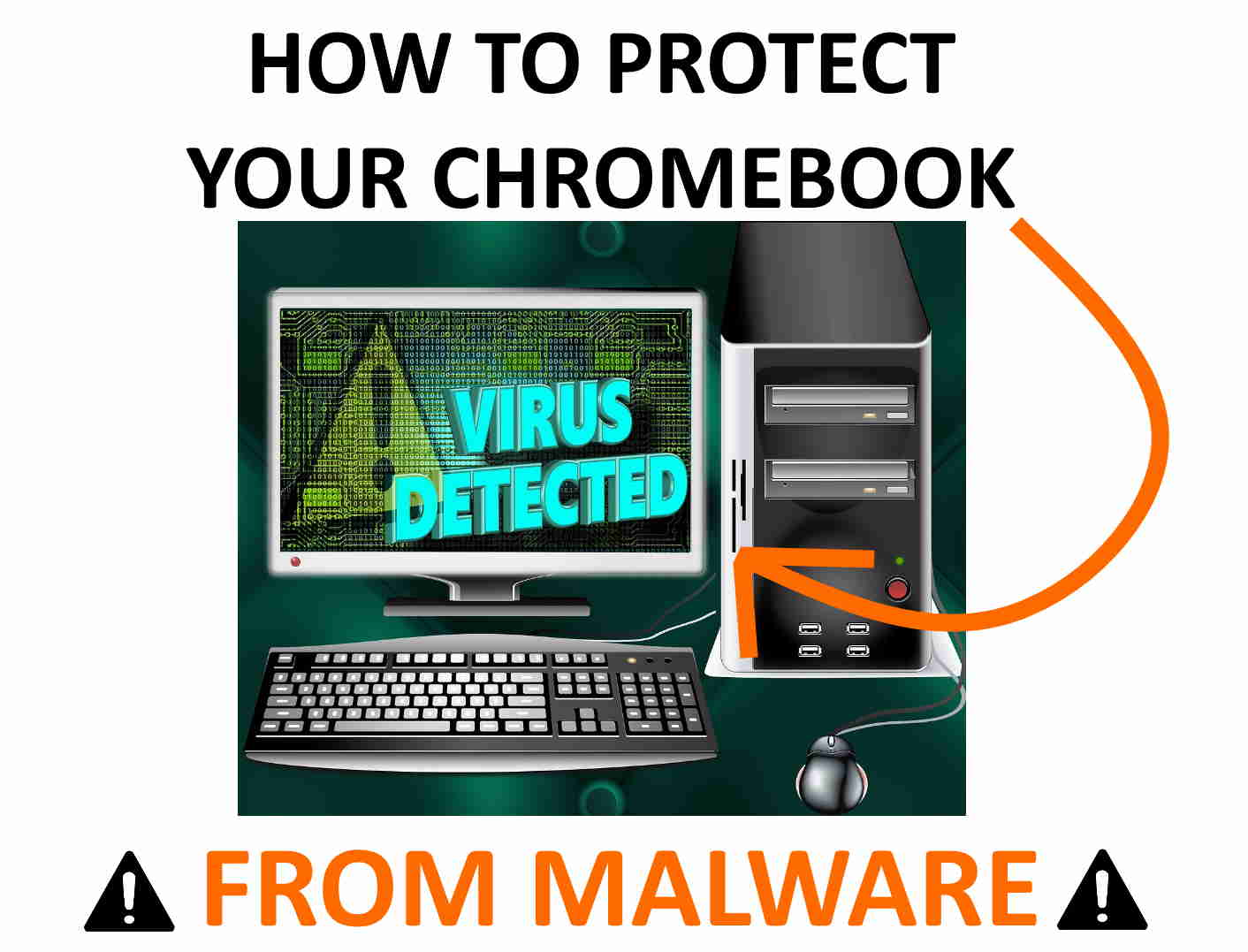 Scan, remove, protect Chromebook from malware.