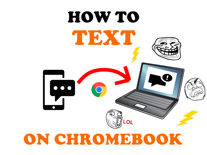 How to send SMS on Chromebook.