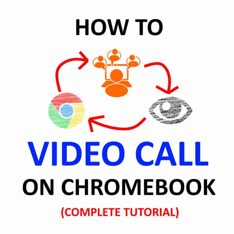How to video conference Chromebook.