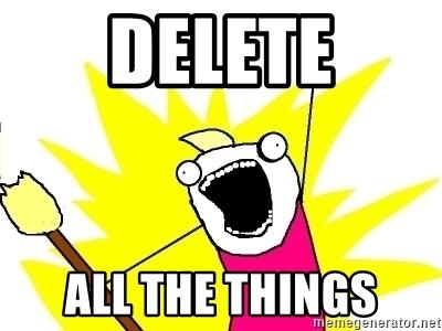 How to shred all data on Chromebook meme.