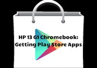 Get Android apps on your HP 13 Chromebook.