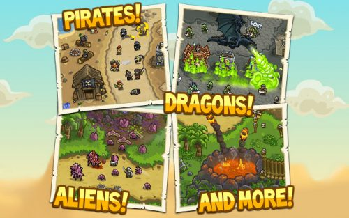 Kingdom Rush Frontiers is a very fun and one of the best strategy games for Chrome OS.