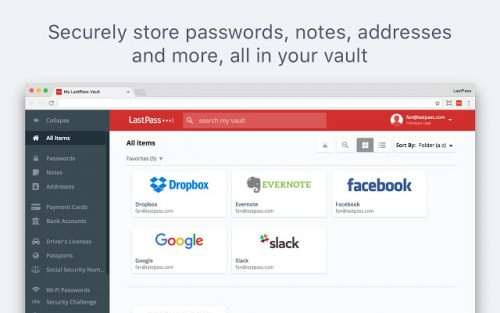 LastPass for Chrome review.