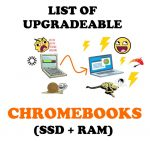 List of Chromebooks That Can Be Upgraded (Complete)