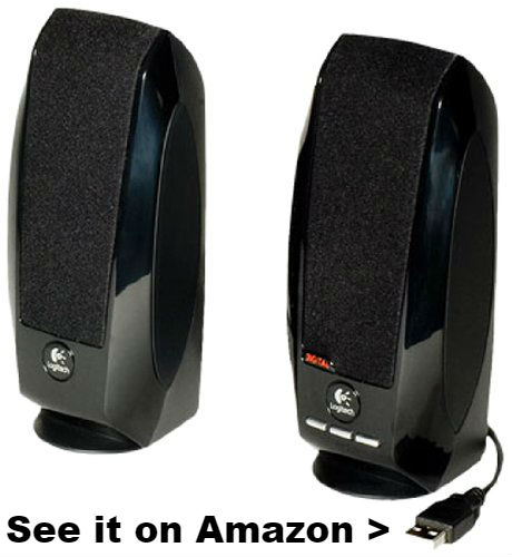 Chromebook speakers Logitech S150.