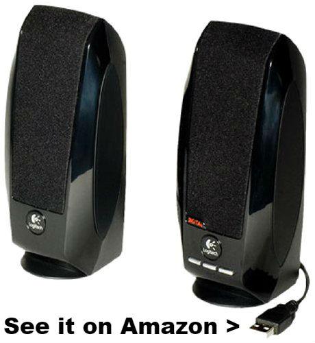 Chromebook speakers Logitech S150.
