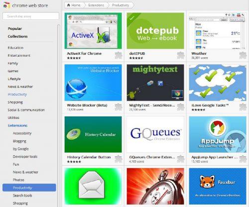 Unsafe malvertising Chrome extensions.