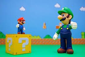 Google Mario hidden block easter egg.