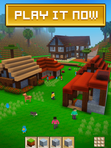 Block Craft 3D Building Game is a free game like Minecraft for Chromebooks.