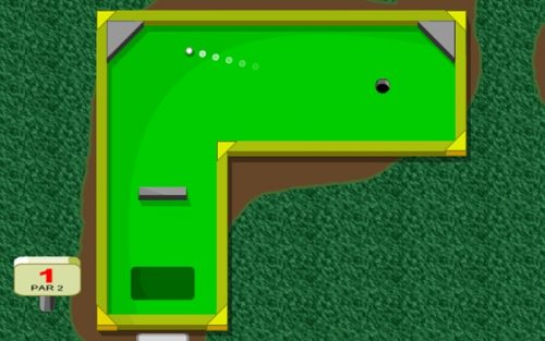 MiniGolf for Chrome OS.