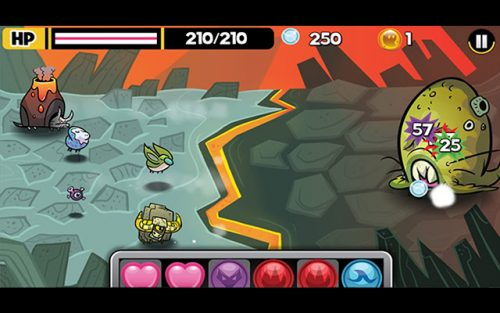 Monster Force 5 is one of the best Chromebook games that runs offline.