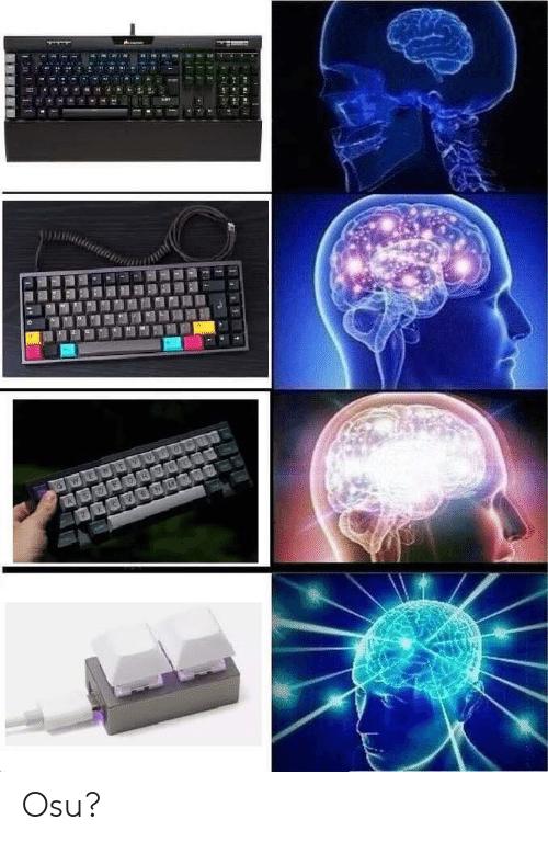 Play Osu! using Linux meme.