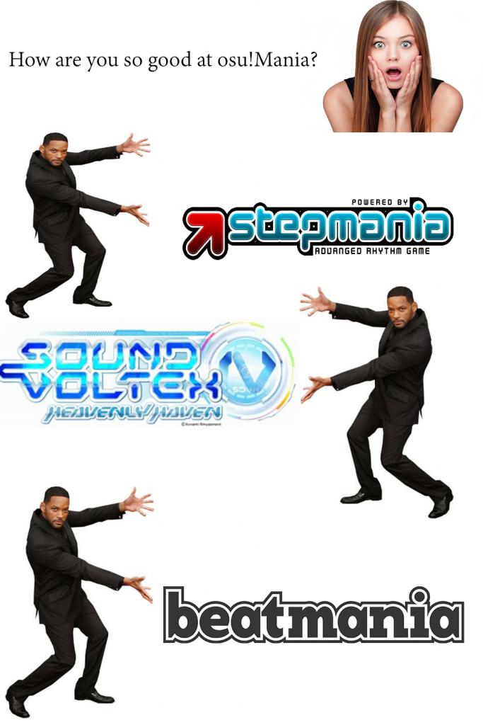 Osu! Mania meme.