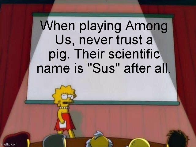 Among Us meme.