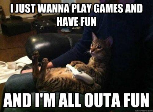 Play games on Chromebook meme.