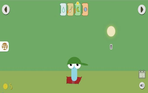 Pou needs attention. Take care of him in this game.