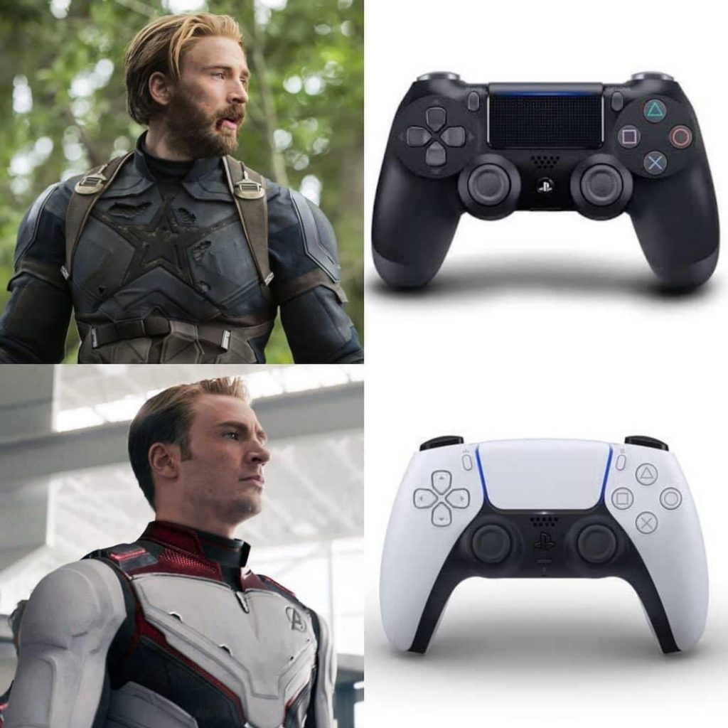 PS5 controller meme.