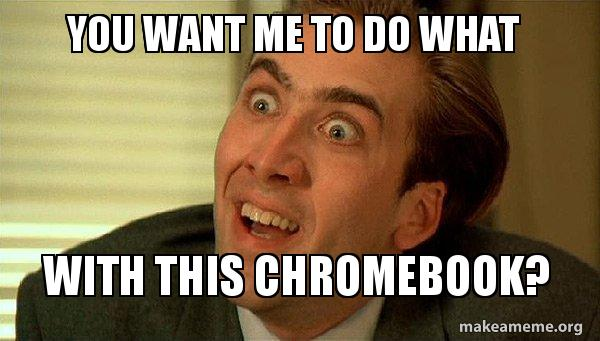 Recover your Chromebook.