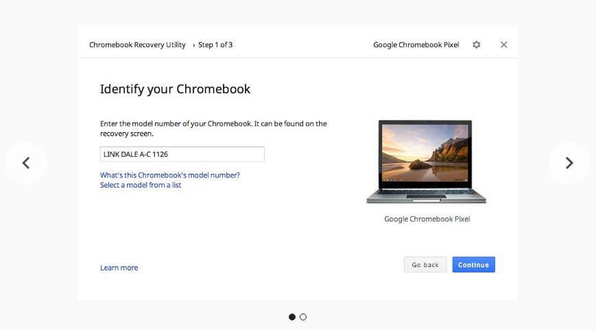 CRU app for Chromebooks.