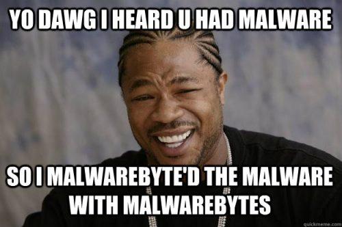 Computer virus - Yo dawg meme.