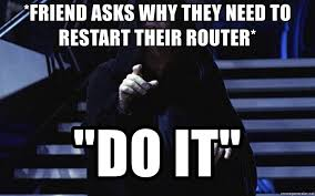 Star Wars meme - How to fix the DNS error on Chromebook.