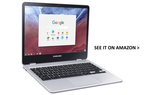 Samsung Chromebook Plus is one of the best Chromebooks for Android apps.