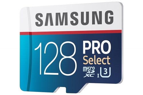 Samsung PRO Select SD card.