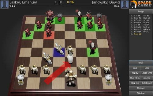 SparkChess is the best chess app for Chrome OS.