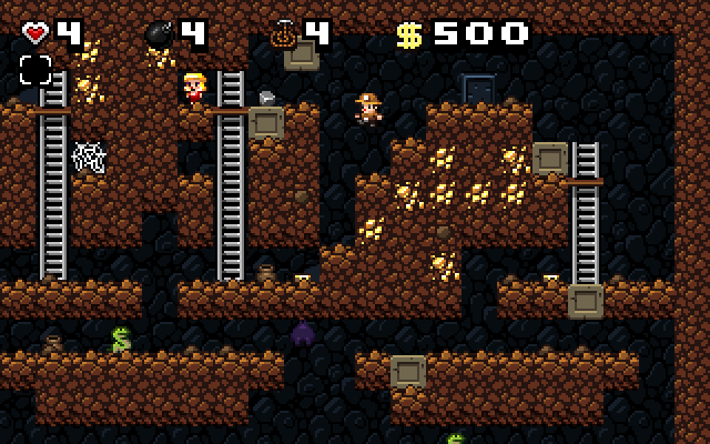 Spelunky game for Chrome
