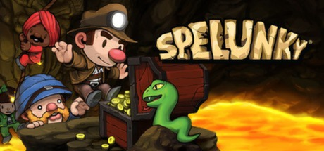 Spelunky dungeon game for Chrome OS.