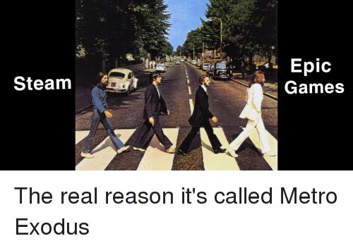 Steam Epic meme.