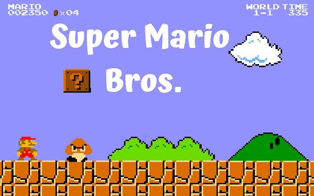 Super Mario for Chrome Browser.