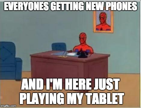 Tablet meme.