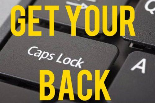 Caps Lock key is gone on Chromebooks.