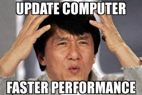 Update Chromebook meme.