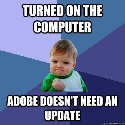Update Chromebook.