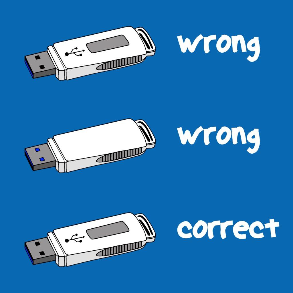 USB meme.