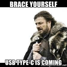 USB Type C meme.