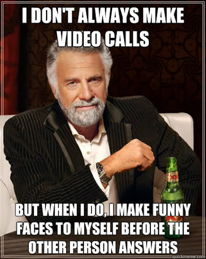 Video call Chromebook meme.