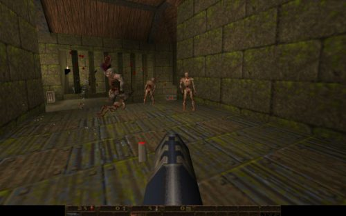 Web Quake is a remake of Quake for your Chromebook.