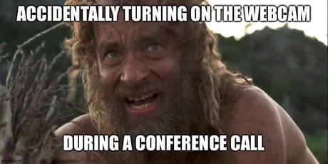 How to conference call Chromebook meme.